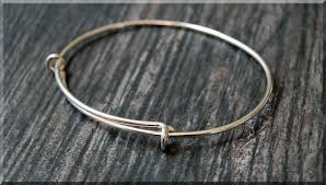 bangle bracelet charm silver images Sterling silver expandable bangle bracelet adjustable bangle jpg