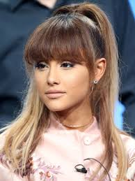 photos of arians hair how to create ariana grande s ponytail allure