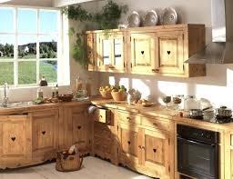 cuisine en bois naturel cuisine bois naturel cuisine cuisine bois brut pas cher 9n7ei com