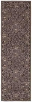 Modern Gray Rug Gray Traditional Modern Global Pattern Wool Area Rug Woodwaves