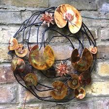 Copper Garden Art Outdoor Yard Decor Copper Accent London Garden Trading Copper Fish