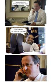 Cameron Meme - obama vs david cameron funny pig pictures
