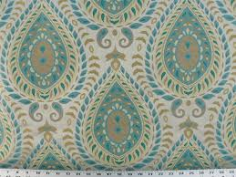 Home Decorating Fabrics Online Divine Paisley Peacock Best Fabric Store Online Drapery And