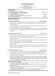 10 sample of investment banking resume template job and resume