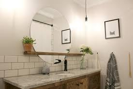 Bathroom Mirror With Shelves Bathroom Mirror Shelf Idea Top Bathroom Pros And Cons Of