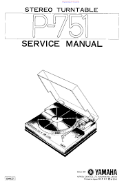 yamaha p 751 sm service manual download schematics eeprom