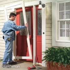 What Hardware Is Needed For An Exterior Front Door Door by How To Weather Strip A Door Family Handyman
