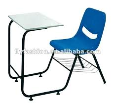 Wire Desk Chair Desk Student Plywood Chairs With Tables Attached With