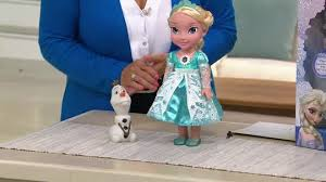 disney frozen northern lights elsa music and light up dress disney s frozen singing elsa doll with light up dress and olaf