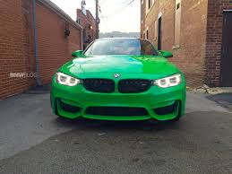 green bmw x5 this 2016 bmw m4 in signal green is a beauty