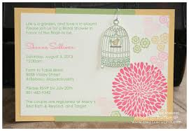summer garden bridal shower invitations creative cucina