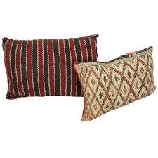 Moroccan Rug Runner Moroccan Tribal Rug Throw Pillows At 1stdibs