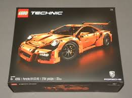 lego porsche 911 gt3 rs lego technic porsche 911 gt3 rs race car set 42056 1 8 scale new