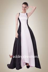 white and black wedding dresses best fancy simple black and white taffeta black wedding dress