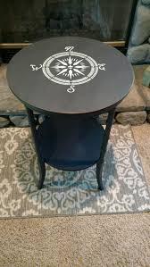 Nautical Side Table Coffee Table Img Nautical Coffee Tables Compass Side Table â â â