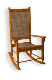 Outdoor Patio Rocking Chairs Tortuga Outdoor Wood Porch Rocking Chair With Woven Wicker Free