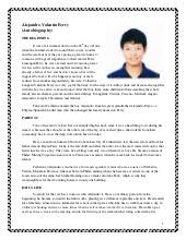 bio resume examples   Template Format Biography