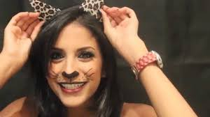 cat halloween makeup maquillage chat pour halloween youtube