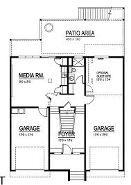 blueprints for small houses first floor simple two bedrooms house plans for small home modern