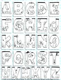 alphabet coloring pages in spanish alphabet coloring pages new alphabet coloring pages or photo of