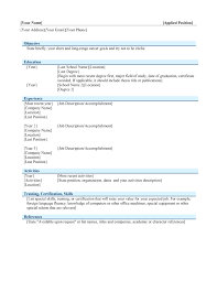 attractive resume templates template attractive resume template