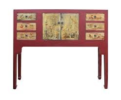 Home Decorators Console Table Chinese Oriental Red Console Table Red Console Table Oriental