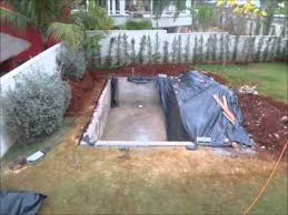 how to build a lap pool build a swimming pool in your yard youtube
