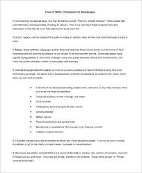 newspaper obituary template u2013 7 free word pdf documents download