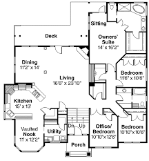 split level floor plans beautiful split level home plan 72566da architectural designs