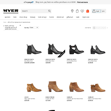 womens boots myer 40 selected s boots myer ozbargain
