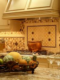 Faux Stone Kitchen Backsplash Mesmerizing White Faux Stones Backspalsh Also Custom Range Hood