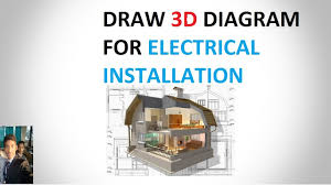 draw diagram for electrical installation in hindi youtube