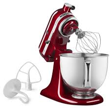 Kitchen Aid Accessories by Kitchenaid 5 Quart Artisan Stand Mixer Ruby Red Everything