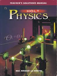 amazon com holt physics teacher u0027s solution manual 9780030684593