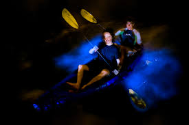 Kayak Night Lights Bioluminescent Kayak Tour