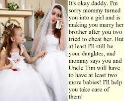 wedding captions family feminization don t cry transgender