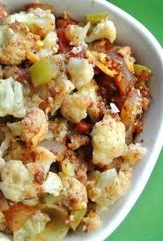 Main Dish With Sauce - mexican cauliflower casserole recipe vegan in the freezer