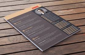 best modern resume templates best free resume templates in psd and ai in 2017 colorlib