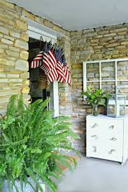 American Flag House Easy American Flag Display For The Front Door