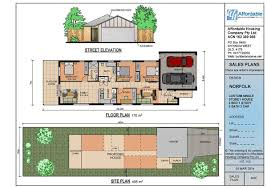 single story house plans for narrow blocks escortsea