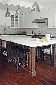 kitchen island posts 30 brilliant kitchen island ideas that make a statement