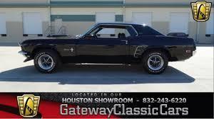 1969 Mustang Black 1969 Ford Mustang Grande 32146 Miles Black 2 Door 302 C I D V8 3