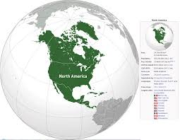 North America Map With Cities by North America Map