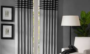 Curtain Inspiration Curtains Cool Grey Curtain Ideas For Large Windows Modern Home