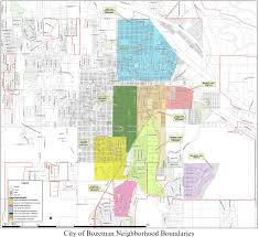 Stoneridge Mall Map Bozeman Subdivisions Neighborhoods Housing Developments Hoa U0027s