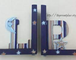 Engraved Bookends Moon Bookends Etsy