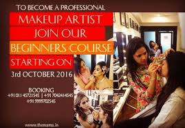 Become A Professional Makeup Artist Hair Looks Course Masters Academy Of Makeup Art In New Delhi India