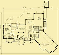 house plans with rear view rear view house plans for a large five bedroom home