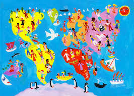 culture hearths and diffusion around the world