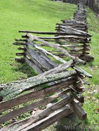 Different Types Of Fencing For Gardens - rustic wood worm fence ranch fences and gateways pinterest